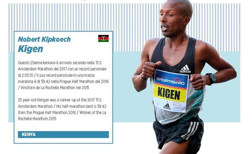 Kenyan Nobert Kigen