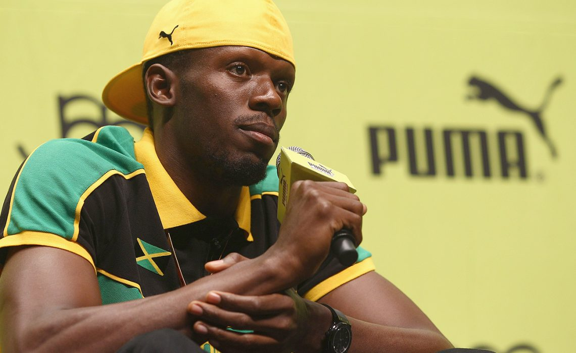 Jamaican World athletics icon, Usain Bolt / Photo Credit: Puma