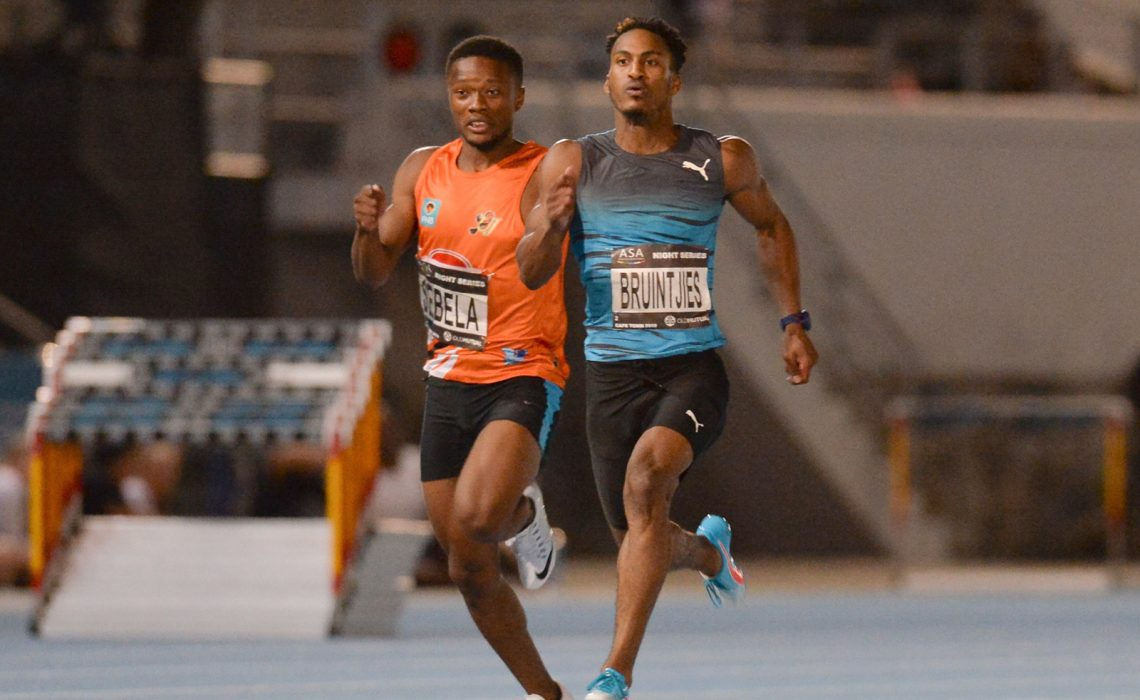 PUMA Ambassador Henricho Bruintjies will be running in the Athletix Grand Prix. Photo Credit: Roger Sedres