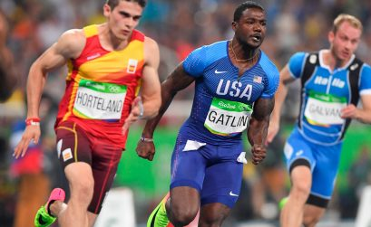 World 100m champion, Justin Gatlin (USA) to compete in 150m at the 2018 Athletix Grand Prix Series / Photo Credit: Roger Sedres
