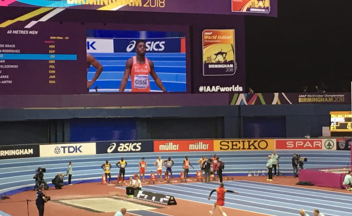 IAAF World Indoor Championships Birmingham 2018 at the Arena Birmingham.