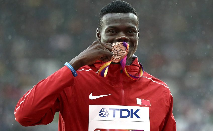 2017 World bronze medallist, Abdallelah Haroun