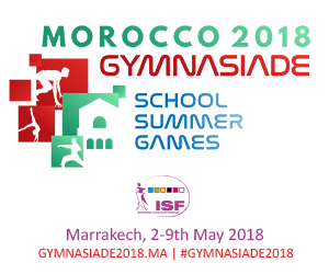 Gymnasiade 2018 - School Summer Games Marrakesh, Morocco / 2-9 May, 2018
