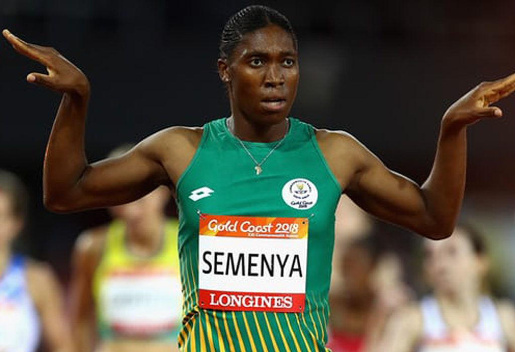 Caster Semenya wins the Commonwealth Games women's 1500m final at Gold Coast 2018 / Photo Credit: Getty