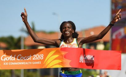Namibia's Helalia Johannes won a historic women's marathon at 2018 Commonwealth Games in Gold Coast.