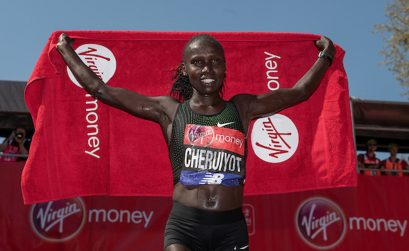 Kenya's Vivian Cheruiyot / Photo: London Marathon