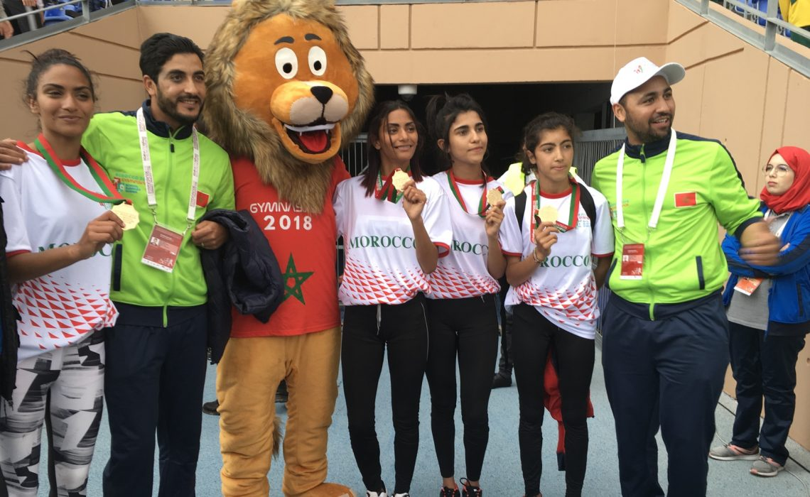 In Pictures: ISF Gymnasiade 2018 in Marrakech – Day 4