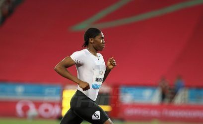 Caster Semenya from South Africa at the 2018 IAAF Diamond League in Rabat, Morocco / Photo Credit: IDL