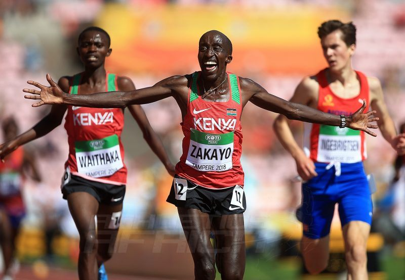 Tampere 2018: Zakayo wins thrilling men's 5000m gold