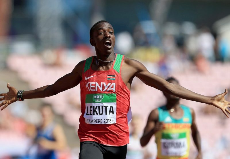 Tampere 2018: Lekuta maintains Kenyan hold on 800m