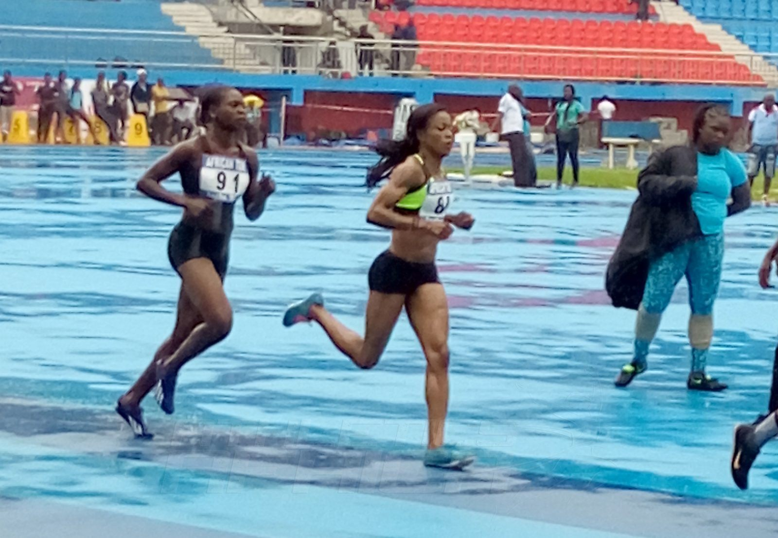 The women's 1500m event / Photo credit: Naomi Peters for Athletics Africa