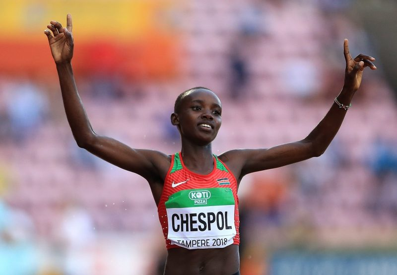 Tampere 2018: Chespol defends World U20 crown in Championship Record