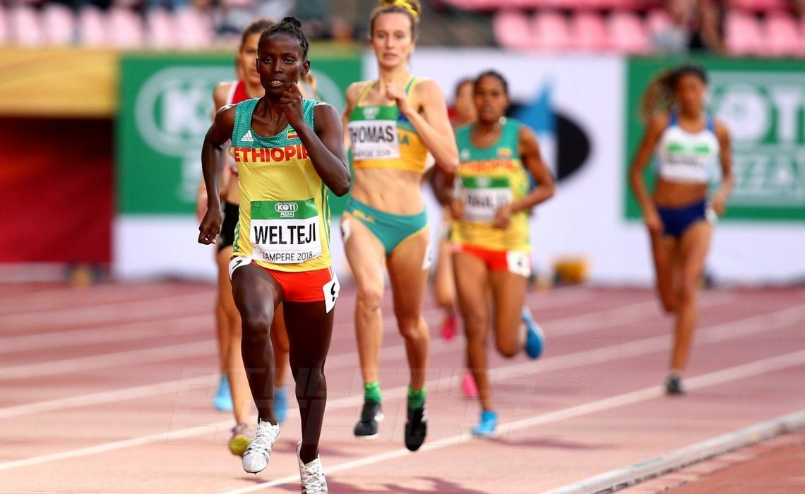 In Pictures: African athletes at Tampere 2018 IAAF U20 Championships