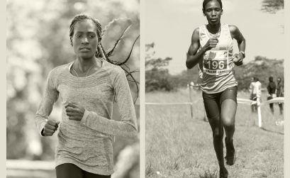 Kenyans Pauline Korikwiang and Alice Aprot