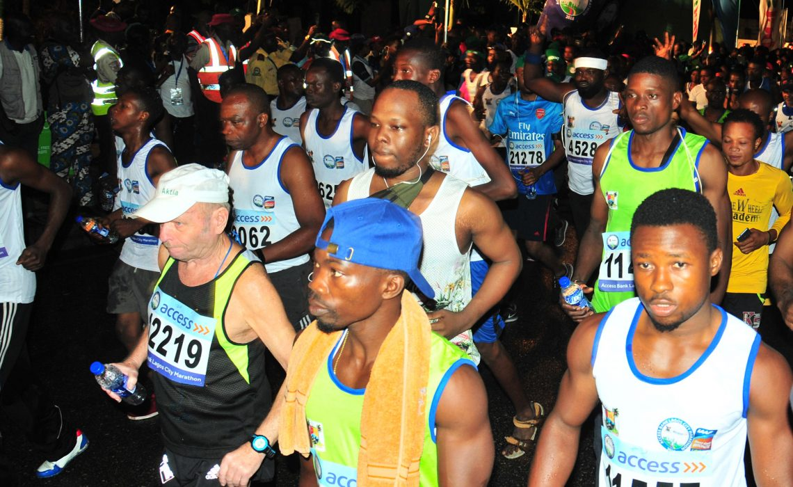 The 4th edition of the Access Bank Lagos City Marathon has been fixed for Saturday, February 2, 2019 in Lagos, Nigeria / Photo: LOC