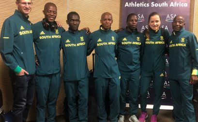 The South African ultra-distance team at the O.R Tambo Airport for departure to Sveti, Croatia on Tuesday 4 September, 2018 / Photo credit: ASA