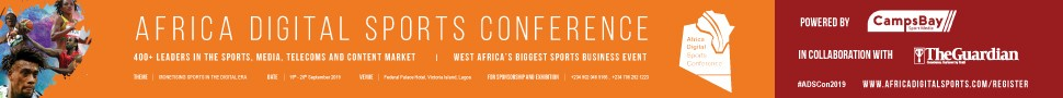 African Digital Sports Conference - Lagos 2019