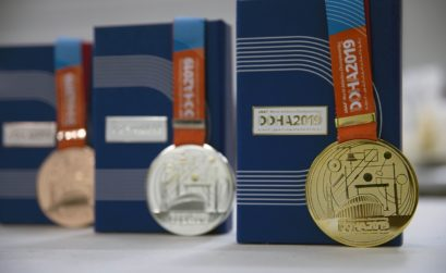 Doha 2019 medals unveiled