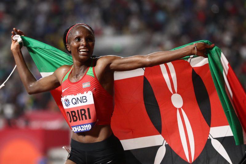 Kenya's Hellen Obiri - Day 9 Doha 2019