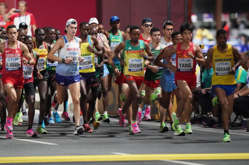 Ethiopian Lelisa Desisa wins men's Marathon in Doha 2019